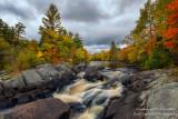 Little Falls, Flambeau River, Autumn