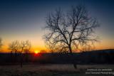 Sunrise in the Blue Hills
