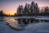 Evening at the Flambeau river