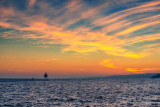 Glorious sunset colors, Two Harbors 1