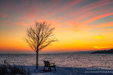Glorious sunset colors, Two Harbors 2