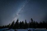 Night sky at Split Rock Lighthouse state park