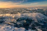 Clear Ice shards, Lake Superior 3