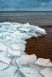 Blue ice, near Bayfield, Wisconsin 2