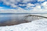 Lake Superior shore  near Bayfield, Wisconsin