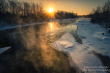 Cold morning at the Chippewa river 2