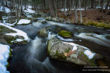 Snow melt, creek 1