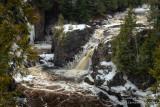 Copper Falls, snow melt
