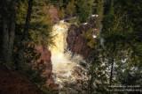 Brownstone Falls, snow melt