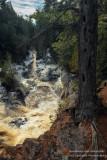 Bad River gorge