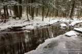 Creek with the last of the snow 5