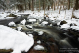 Creek with the last of the snow 6