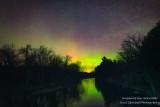 Aurora borealis at Chippewa River
