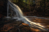 A stream of light