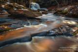 Lost Creek falls and creek 1