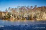 Spring snow, Audie Lake 2