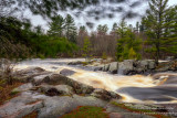 Little Falls on a rainy spring day