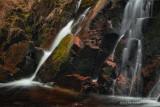 Morgan Falls and red rocks