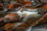 Morgan Creek with red rocks