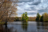 Spring day at the Flambeau river