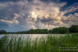 Dramatic clouds, Chippewa Flowage, WI