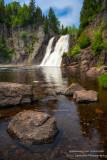High Falls at Tettegousche State park 1