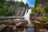 High Falls at Tettegousche State park 2