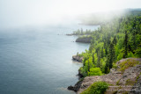 A foggy day along the shoreline of Lake Superior. View from Shovel Point at Tettegouche State park 4