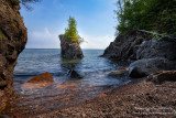 Little Sea Stack at Tettegouche State park