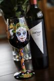 Wine & Sugar Skull