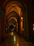 Bologna Porticoes at Night