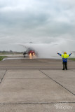 RS05 Last formation flight, rotor-wash and shut down