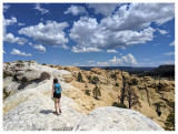 New Mexico September 2019: Petrified Forest NP, Tent Rocks NM, Bandelier NM, Meow Wolf, El Morro NM