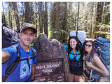 Day 1: Crescent Meadow to Bearpaw Meadow