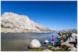 Nine Lake Basin campsite