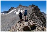 Short ridge walk to our descent