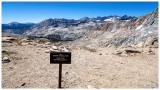 Colby Pass view into Sequoia National Park