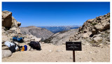 Colby Pass view into Kings Canyon National Park