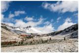 A snowy Matterhorn