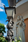Lantern And The Statue