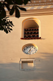 Clock And Bells In Sunshine
