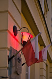 Red Lantern And Flags