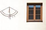 Sundial And Window