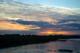 Sunset Seen From The Bridge