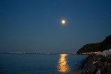 Full Moon Over The Bay