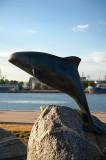 The Harbour Porpoise Statue