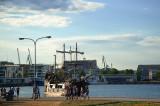 Galleon Regina Arriving In The Port