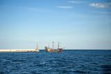 Galleon Regina At Gdansk Bay