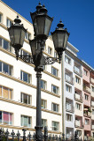 Five Lamps On One Post