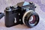 Nikon F black + NIKKOR-S•C 50mmF/1.4 @f22 Z7